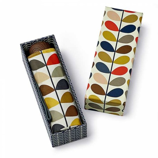 Orla Kiely Microslim-2 Umbrella in Gift Box - Multi Stem 2