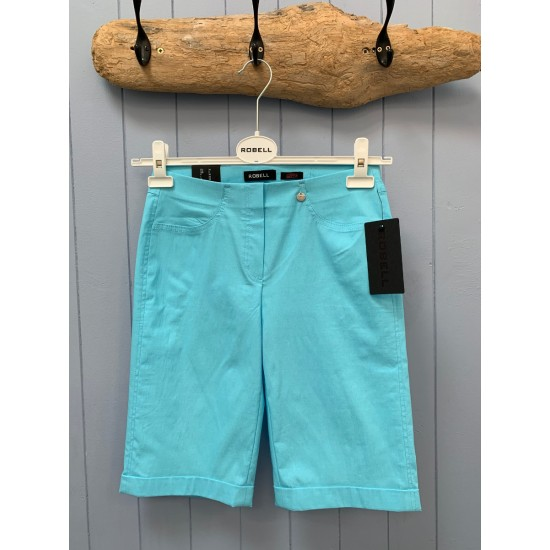 Robell Bella 04 Shorts - Turquoise