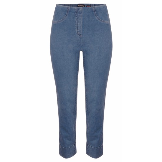 Robell Bella 09 Jean - Light Denim