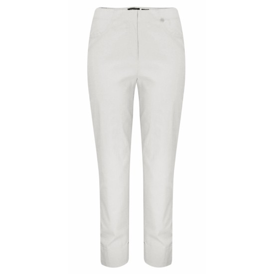 Robell Bella 09 Trouser - Silver Grey