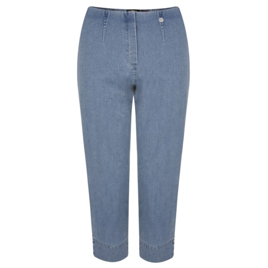 Robell Marie 07 Cropped Jean - Light Denim