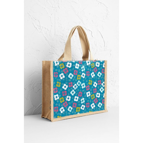 Seasalt Cute Jute - Footpath Floral Emulsion