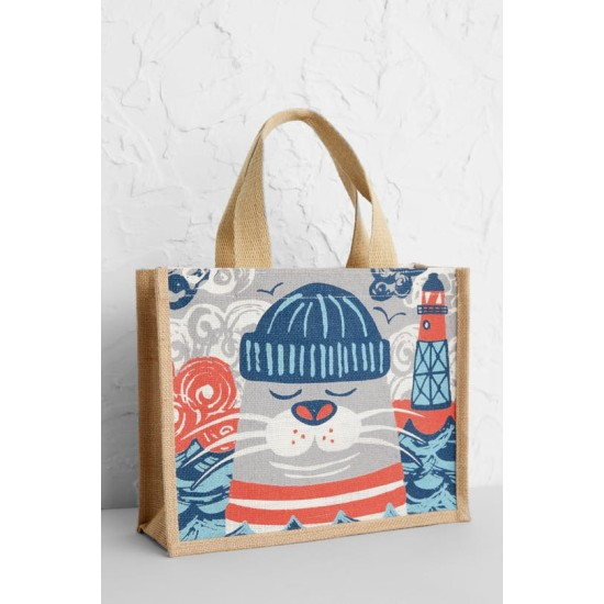 Seasalt Cute Jute - Little Arthur Seal