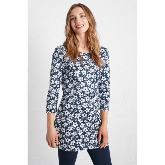 Seasalt Early Boat Tunic - Sea Spurrey Harbour