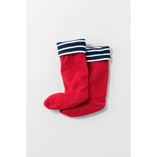 Seasalt Knitted Welly Socks - Rudder Red