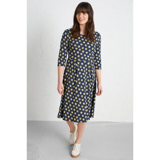 Seasalt The Mouls Dress - Primrose Spot Dune