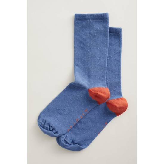Seasalt Women's Everyday Socks - Mini Confetti Delphinium