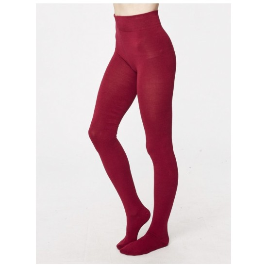 Thought Charlotte Bamboo Tights - Ruby
