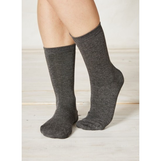 Thought Solid Jackie Bamboo Socks - Charcoal