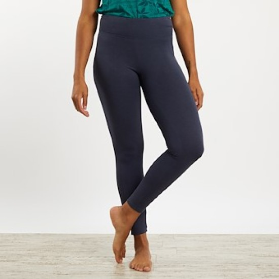 Weird Fish Kayla Bamboo Yoga Leggings - Dark Navy