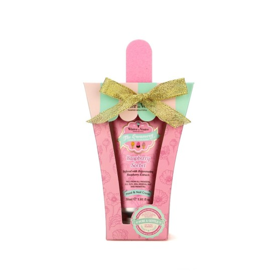 Winter in Venice Creamery Hand & Nail Cream - Raspberry Sorbet